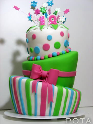 g teau d 39 anniversaire 18 ans topsy turvy cake torta z flickr. Black Bedroom Furniture Sets. Home Design Ideas