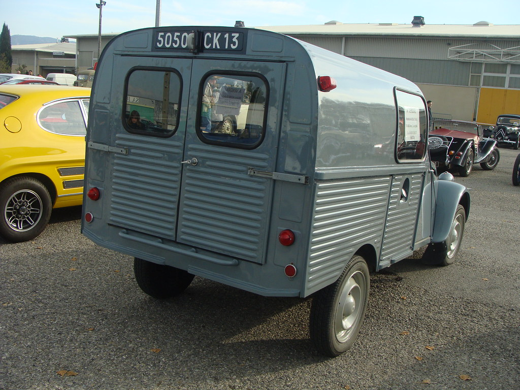 2cv fourgonnette 1964