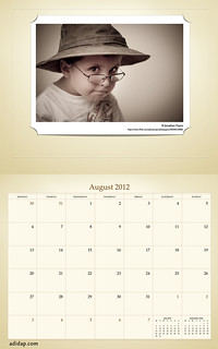 ADIDAP Calendar 2012 UK Retro August | by akhater