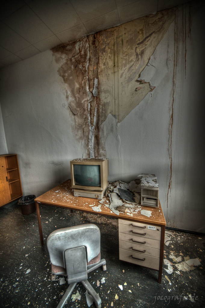 Abandoned Office Building Hazardous Materials | Freaktography