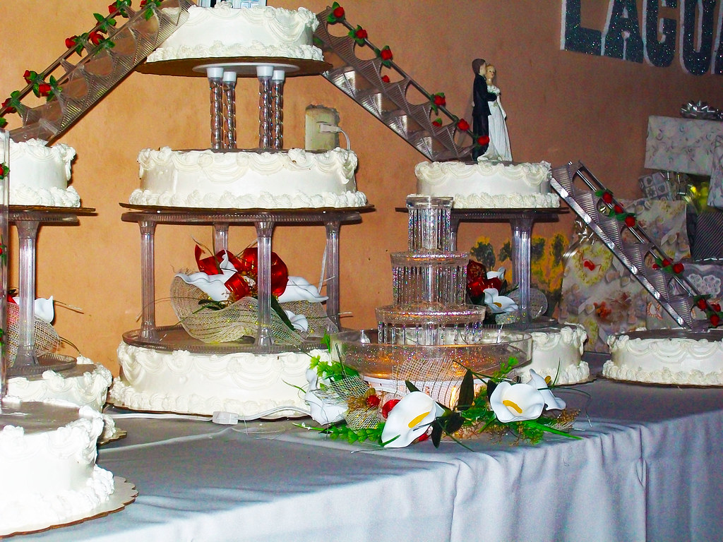 Bridge Fountain Wedding Cake I Probably My Biggest Project Flickr