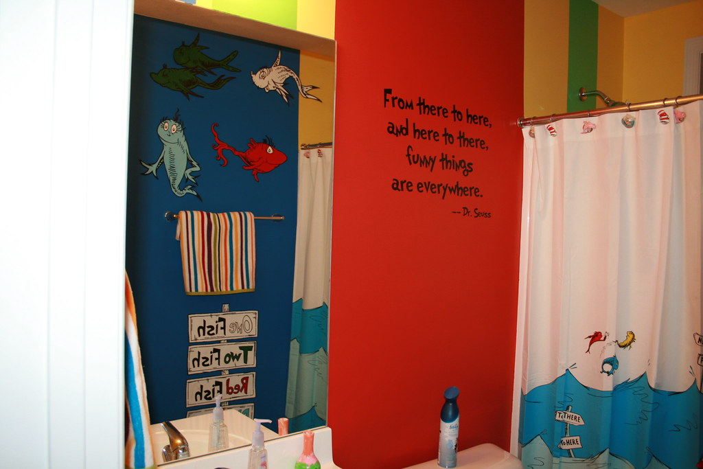 Dr Seuss Hand Painted Murals Flickr