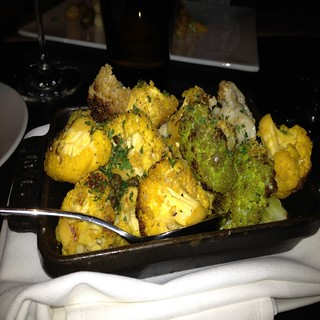 Fried Califlower  @ The Lounge at BOURBON STEAK | by cdorobek