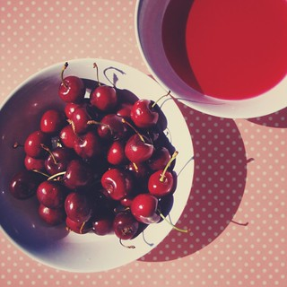Cherries & Polka Dots | by . M a r t @ . ♦♦