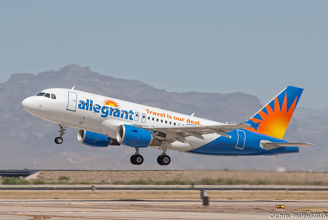 Airbus A319 - Allegiant Air - N325NV