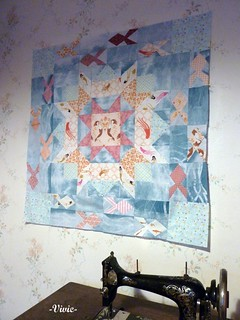 Medalion Quilt - 1st round : Fish | by Madame Créative