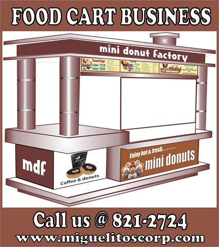 miguelitos mini donut factory food cart franchise in the philippines | by miguelitoscorp