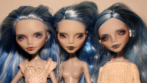 Ghoulia Repaints... Head differences?! | by armeleia