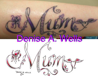 Mom tattoo design by Denise A. Wells Inked | by ♥Denise A. Wells♥
