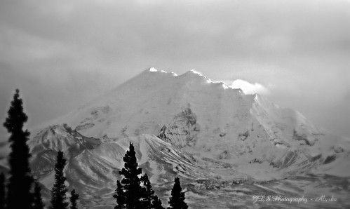 Light on the Mountain Top . . . | by JLS Photography - Alaska