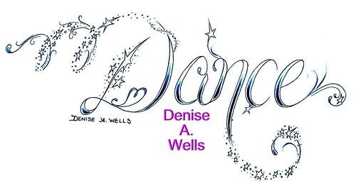 World Of Dance Font: Dance #2 Tattoo Design By Denise A. Wells