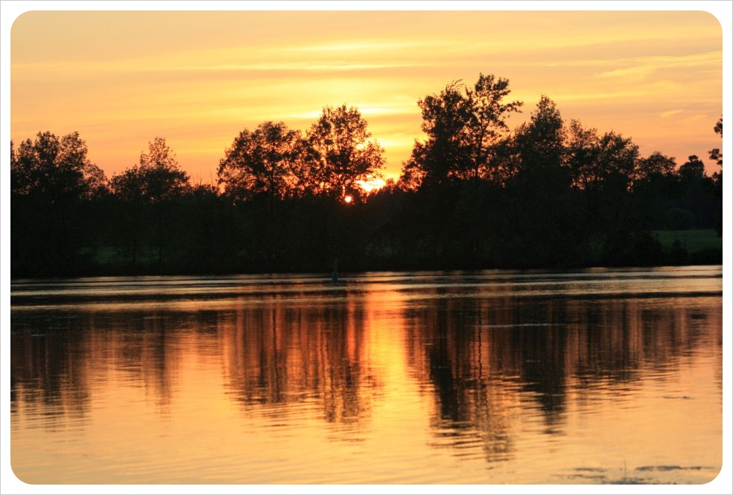 rideau river after sunset2