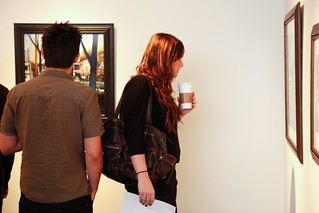 Opening night photos from Esao Andrews and Allison Sommers (Jan 2012) | by thinkspace_gallery