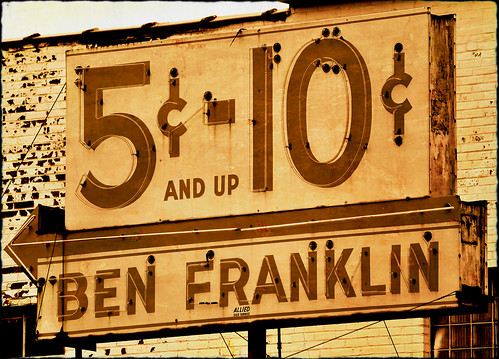 Ben franklin shane trueblood flickr Five and dime stores history