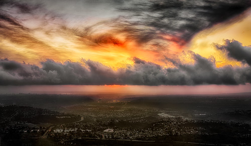 Cowle Mountain Sunset Pano | by Doug Knisely