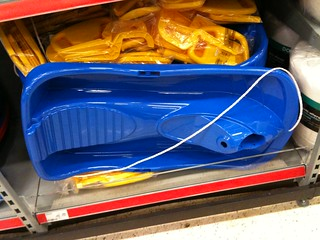 Sledge for sale in ASDA 2 | by comedyhunter