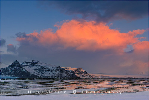Sunrise at the south coast of Iceland at Vatnajokull N.P | by ~ Floydian ~ 