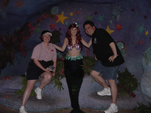 Tracey and Scott with Ariel | by Disney, Indiana