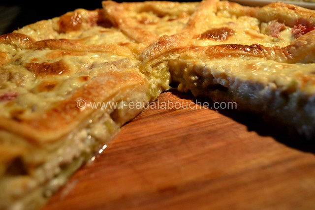 Tarte à la Rhubarbe au Fromage Blanc & Coco © Ana Luthi Tous droits réservés 29