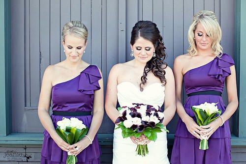 bride-bridesmaid-hairstyles | by vanmobilehair