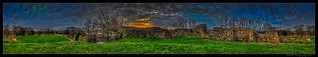 360 Panorama Pontefract Castle Keep. (H.D.R.) | by nigelnaturist