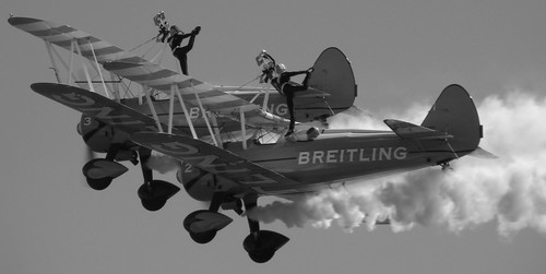 Breitling wing walkers at Bournemouth air festival | by mre1965