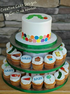 The Very hungry Caterpillar Tower | by Christina's Dessertery