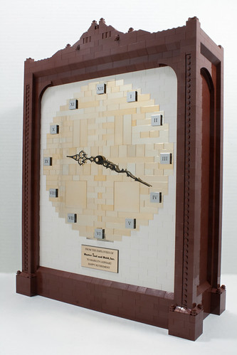 LEGO Clock | by Cale Leiphart