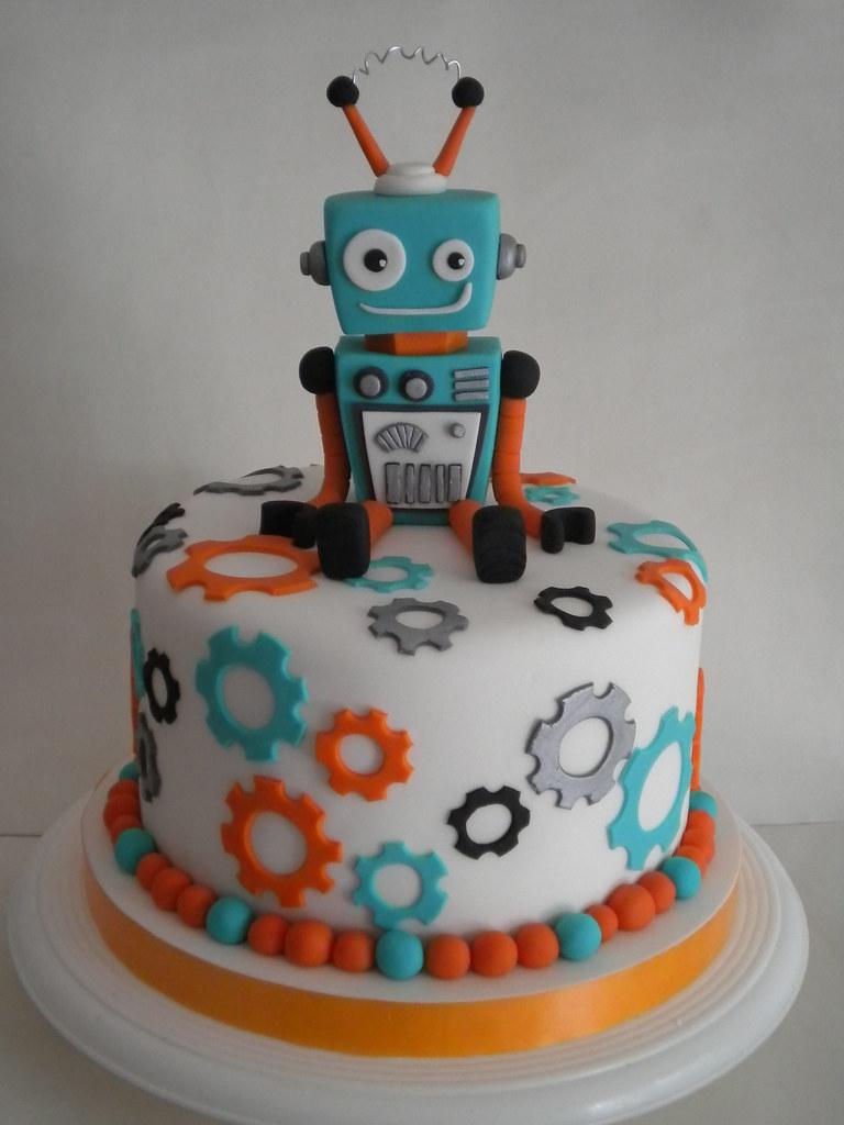 торт робот фото