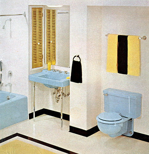 Bathroom (1962) | by peppermint kiss kiss