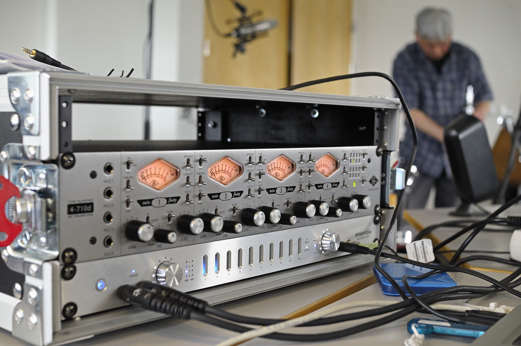 my pre amps 4 710d from universal audio ensemble from a flickr rh flickr com