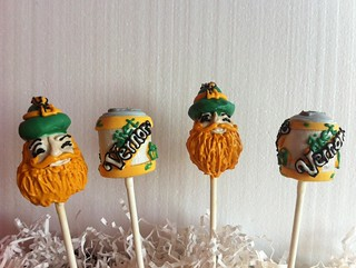 Vernor's Gnome and Gingerale Can Cake Pops | by Sweet Lauren Cakes