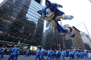 Modern Sonic Makes Debut at Macy's Thanksgiving Day Parade | by SEGA of America