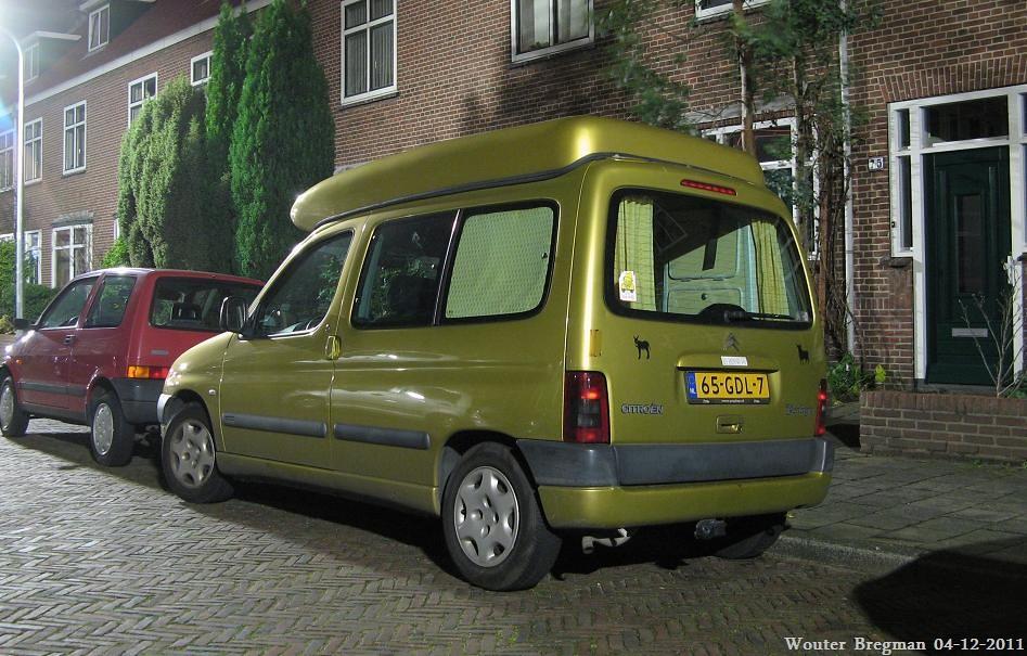 Top Citroën Berlingo 1.4i Multispace camper 2001 | Wouter Bregman | Flickr QN44