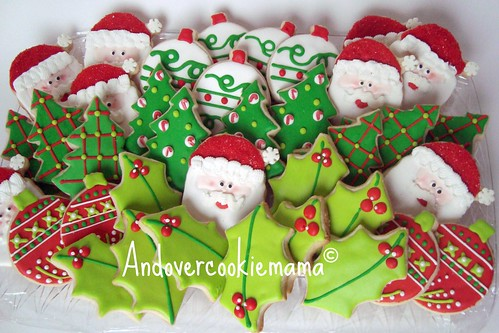 Christmas Cookie Platter 2011 | by Andovercookiemama