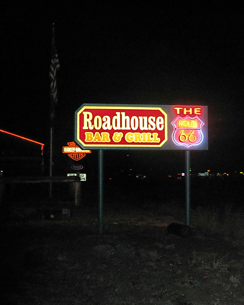the route 66 roadhouse bar & grill bellemont az | on the way… | flickr
