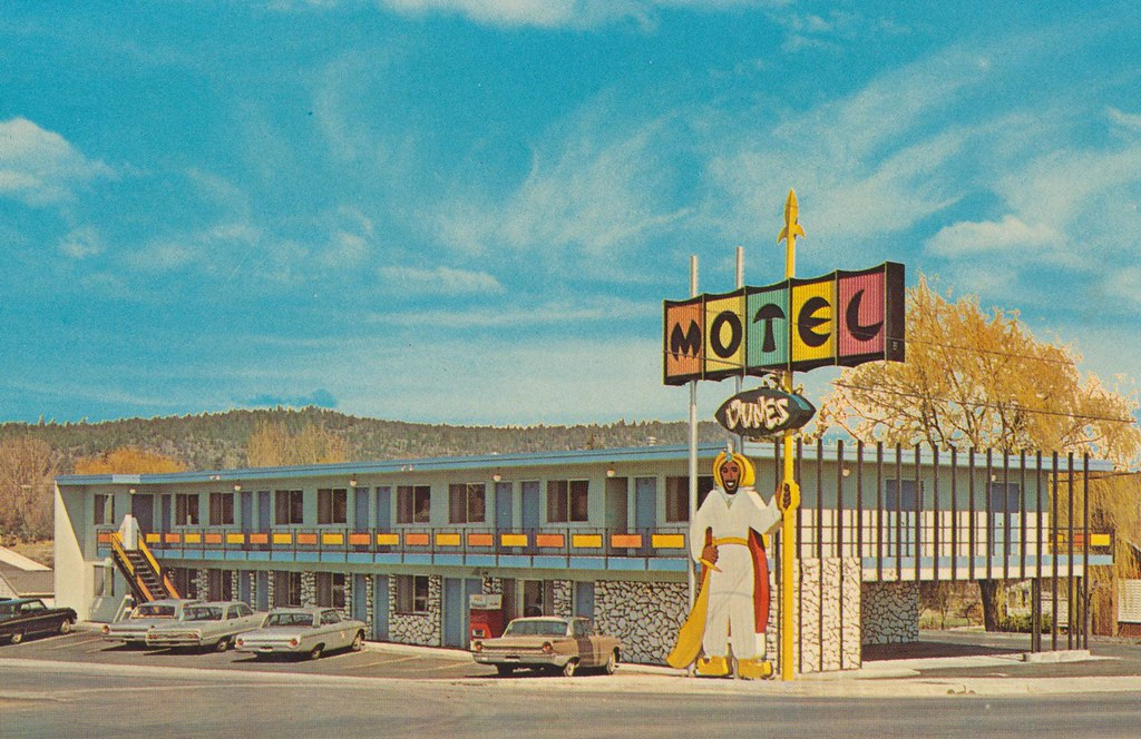 Dunes Motel - Bend, Oregon