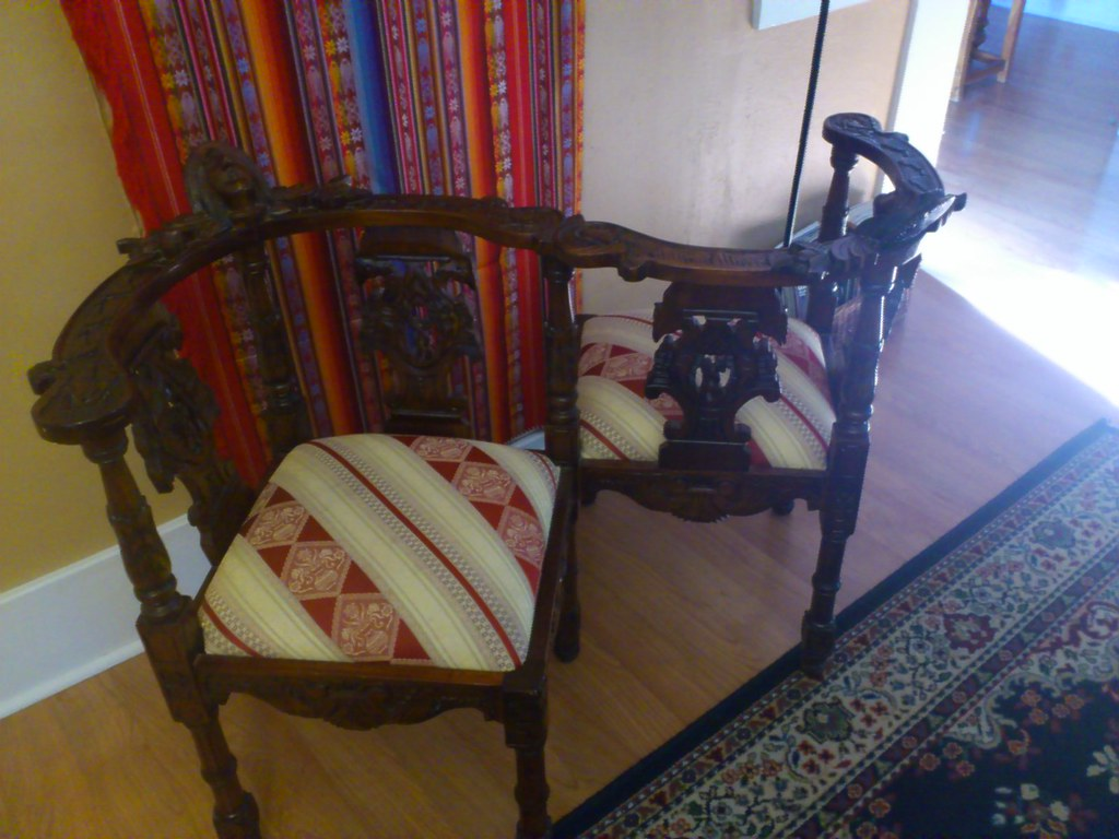 ... 19th Century Courting Chair | By Davidblairsongs