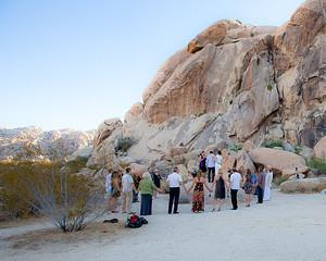 Outdoor Desert Wedding Ceremony In Joshua Tree Ca Flickr
