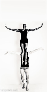 Beautiful Dancer floats above her partner | by tibchris