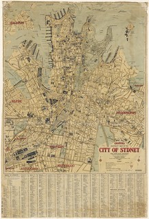 Map of the City of Sydney c.1927 | by NSW State Archives and Records