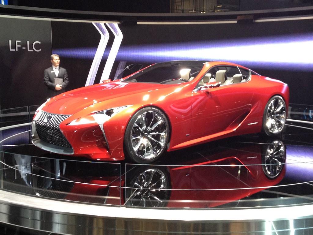 Lexus LF-LC Concept Car at the 2012 Detroit Auto Show - Ja… | Flickr