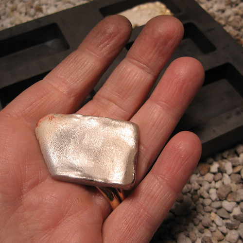 somewhat ok ingot | by Quench Metalworks