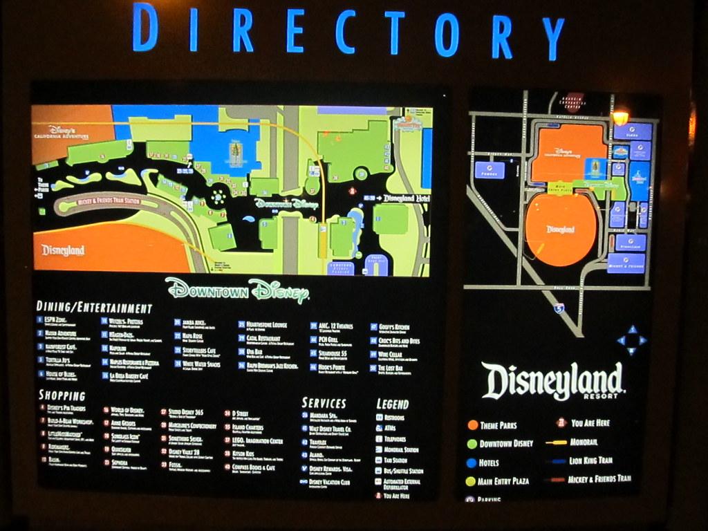 Downtown Disney Directory Downtown Disney Anaheim Calif…