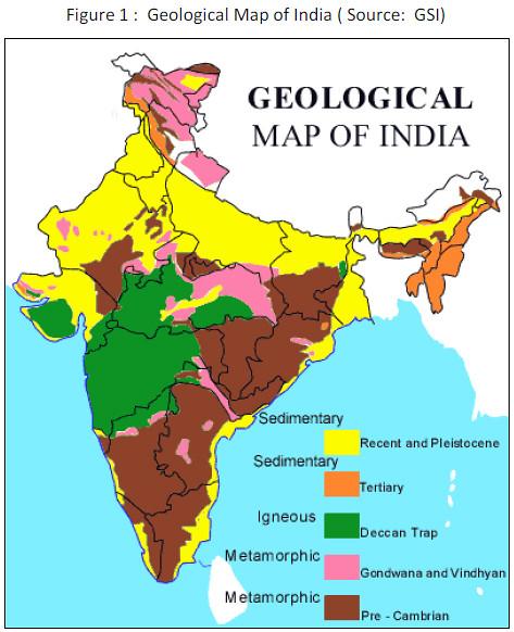 Geological Map Of India Geological Map of India | Hindi Water | Flickr Geological Map Of India