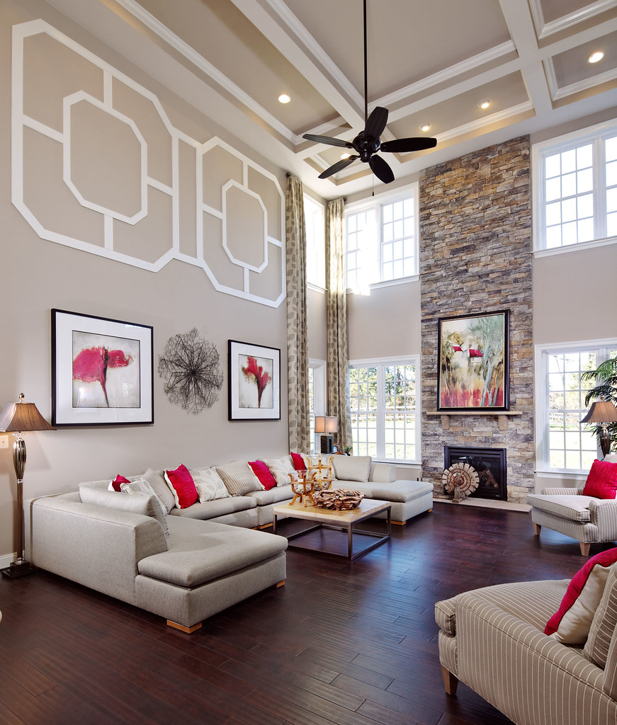 ... K. Hovnanian Huntington Model Home   By Willowsford
