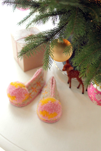 Little shoes waiting for Santa... | by citrusandorange