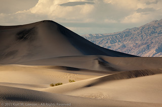 The largest dune in shadow | by Kurt Lawson