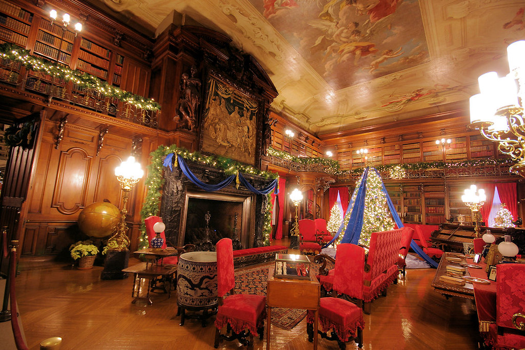 Christmas at Biltmore House | Christmas decorations inside B… | Flickr