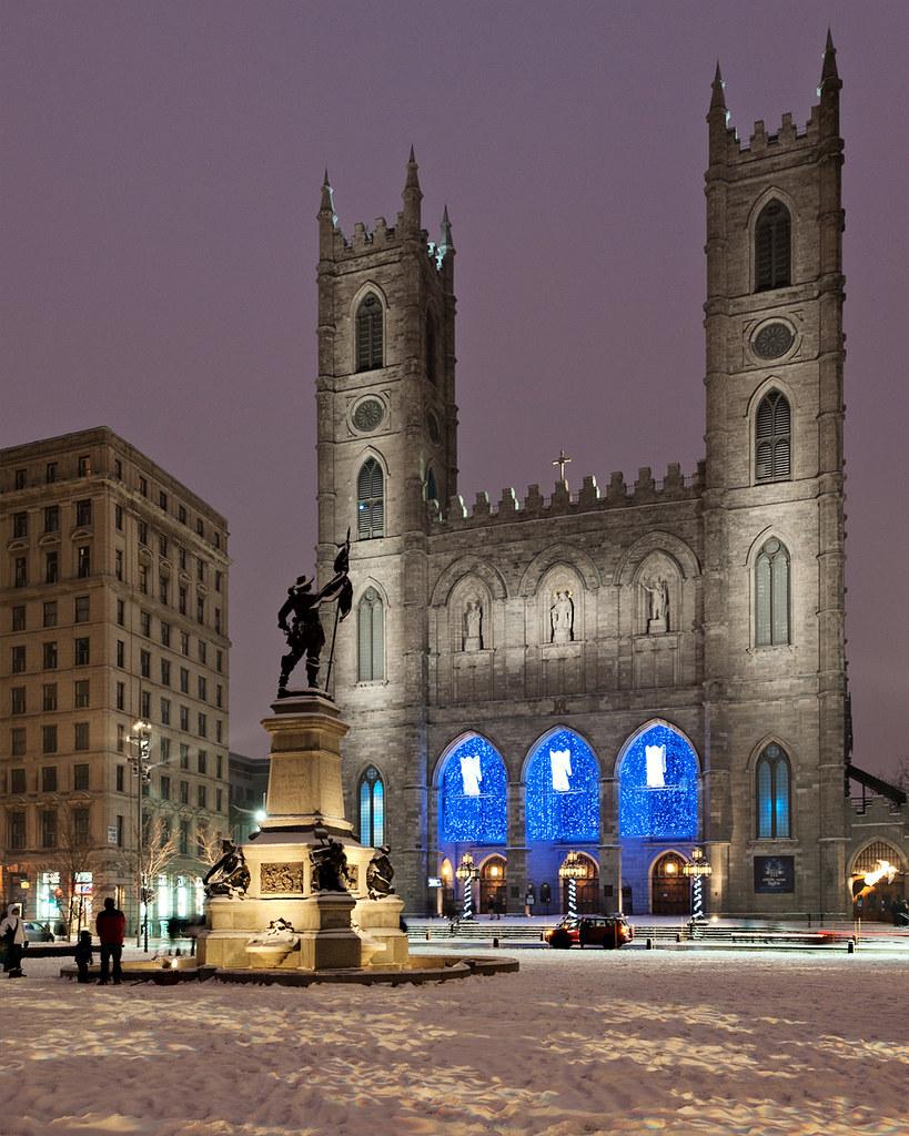 Christmas in Montreal - place d\'armes et Basilique Notre D…   Flickr